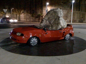 Walsh Bay Sydney, Big Rock on Car