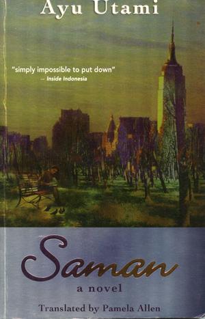 "Book Cover ""Saman"""