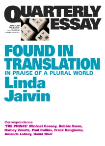 Found in Translation by Linda Jaivin