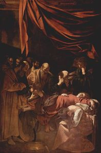 Caravaggio, Death of the Virgin