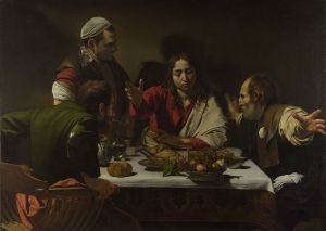Caravaggio, The Supper at Emmaus