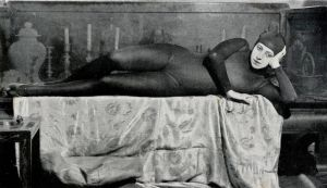Actor Musidora played Irma Vep in Les Vampires