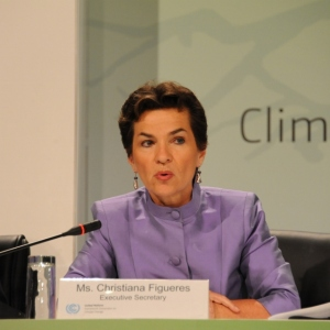 Christiana Figueres, former United Nations Climate Change Chief (Photo: UNclimatechange, CC licence)