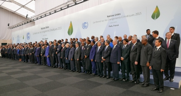 Heads of Delegations at Paris Climate Change Conference (Presidencia de la Republica Mexicana, cc licence)