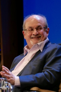 Salman Rushdie at the Hay Festival (Andrew Lih, cc licence)